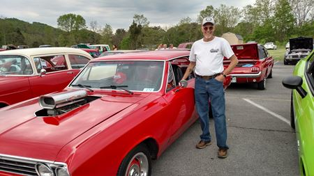 Chevrolet Chevelle Red Rooster