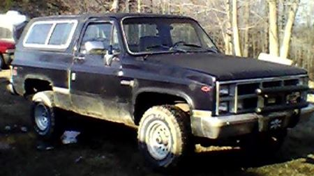 Chevrolet Blazer the plum