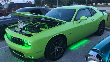 Dodge Challenger The Green Monster
