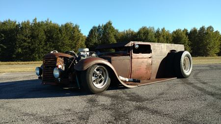 Ford Model A -Rust Bucket