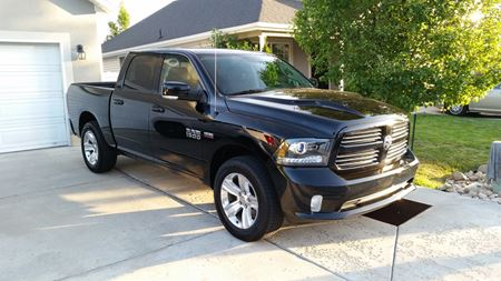 Ram Truck 1500 Black Beauty