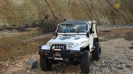 Jeep Wrangler Punisher