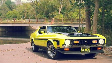 Ford Mustang Mach 1 One Boss Mach