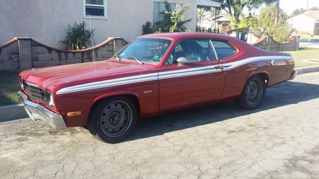 Plymouth Duster April