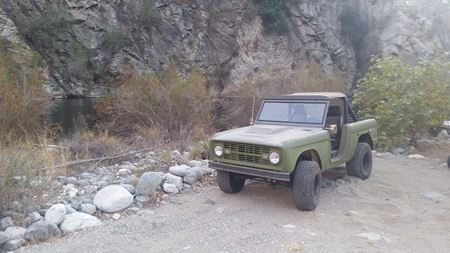 Ford Bronco War Hoss