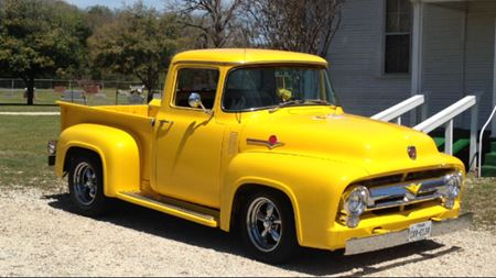 Ford F-Series Old yellow