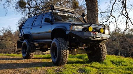 Toyota 4Runner the mule
