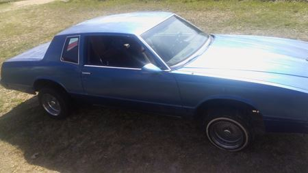 Chevrolet Monte Carlo Th originol blue dreams