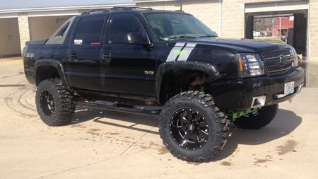 Chevrolet Avalanche Panty Dropper
