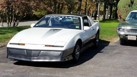 Pontiac Firebird The White Phantom