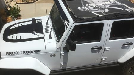 Jeep Wrangler Arc Trooper