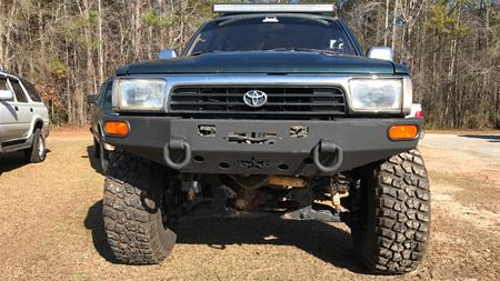 Toyota 4Runner Little foot