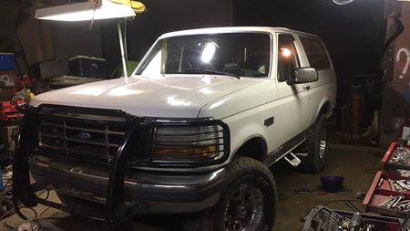 Ford Bronco The White Ghost