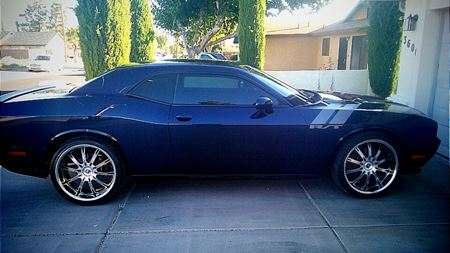 Dodge Challenger Blue Demon