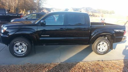 Toyota Tacoma Black ops