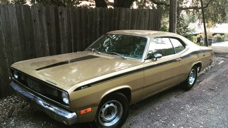 Plymouth Duster Gold Duster