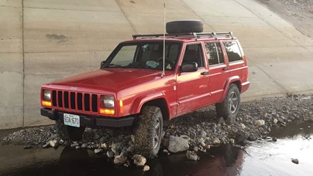 Jeep Cherokee Brickette