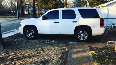 Chevrolet Tahoe White Tiger
