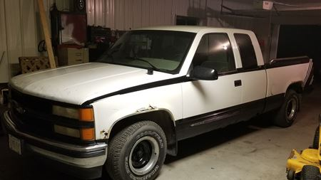 Chevrolet C/K The white ghost