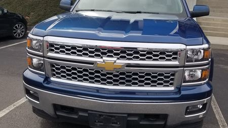 Chevrolet Silverado Big blue