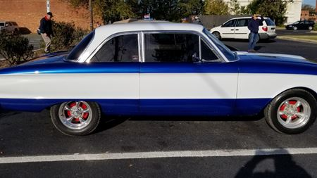 Ford Falcon Limeaid no more  Blue hmm
