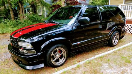 Chevrolet Blazer Little blk