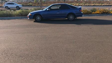 Acura Integra Coupe Old blue