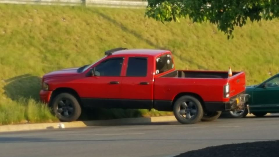 Dodge Ram Clifford the big red dodg