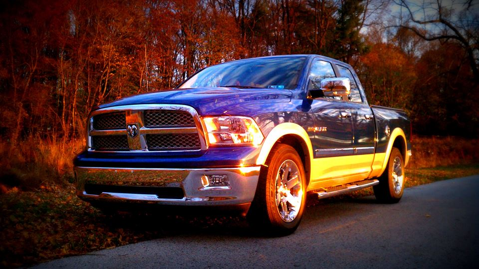 Dodge Ram Big Blue