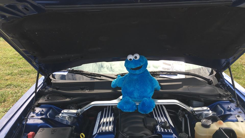 Dodge Challenger SRT8 cookie monster