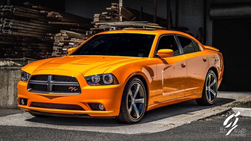 Dodge Charger Orange Crush Drivn