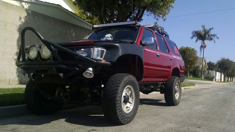 Toyota 4Runner Deadpool