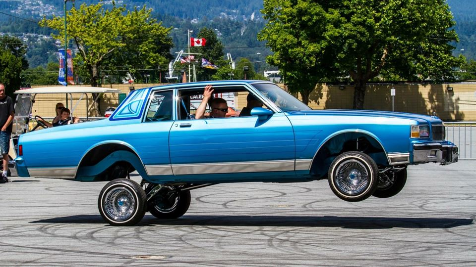 Chevrolet Caprice Blue Hawaii