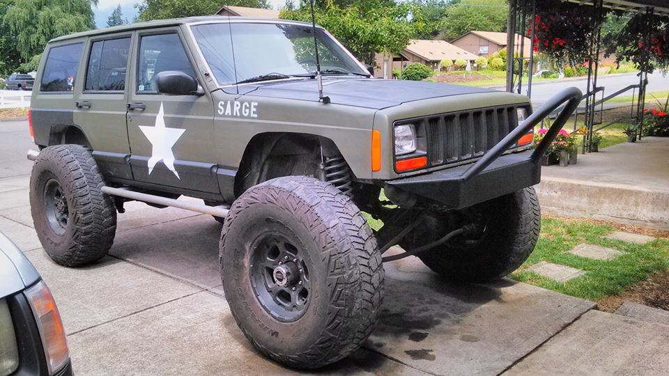Jeep Cherokee The sarge