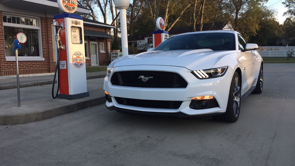 Ford Mustang Blanca