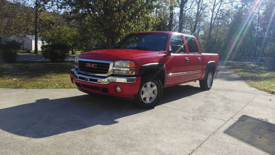 GMC Sierra Red Rider