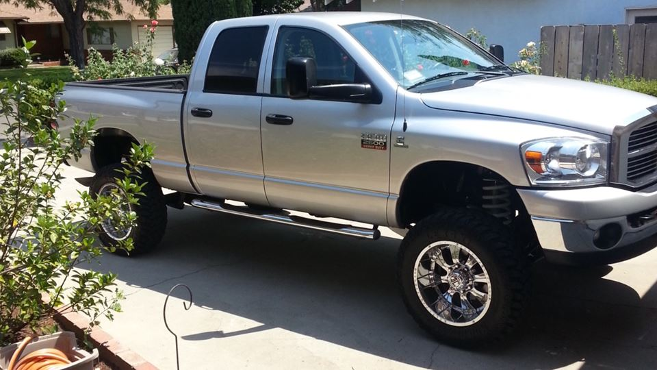 Dodge Ram The silver bullet