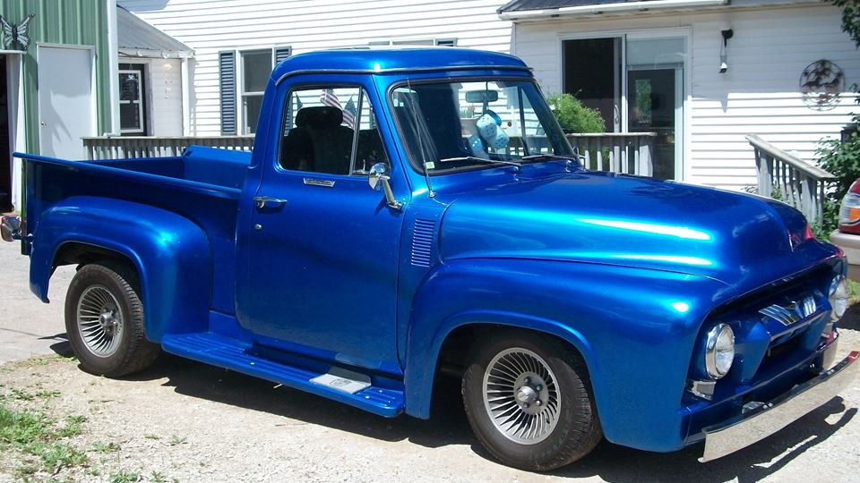 Ford F-Series Blue