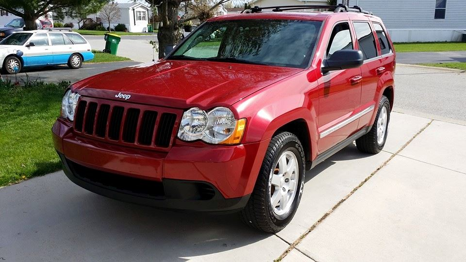 Jeep Grand Cherokee Big Red