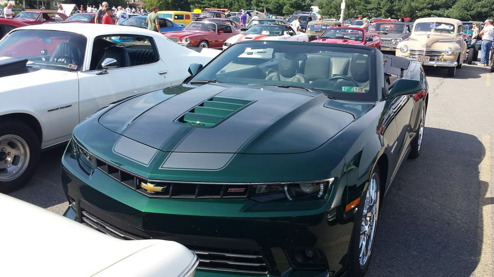 Chevrolet Camaro Green Flash