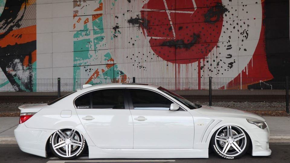 BMW 5 Series Sedan The Great White