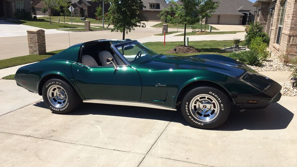 Chevrolet Corvette Green machine
