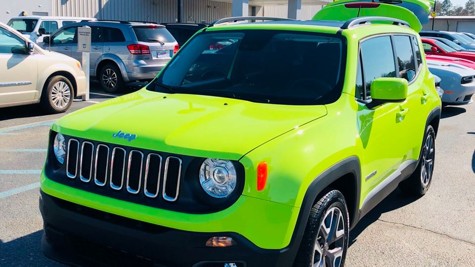 Jeep Renegade The hyper