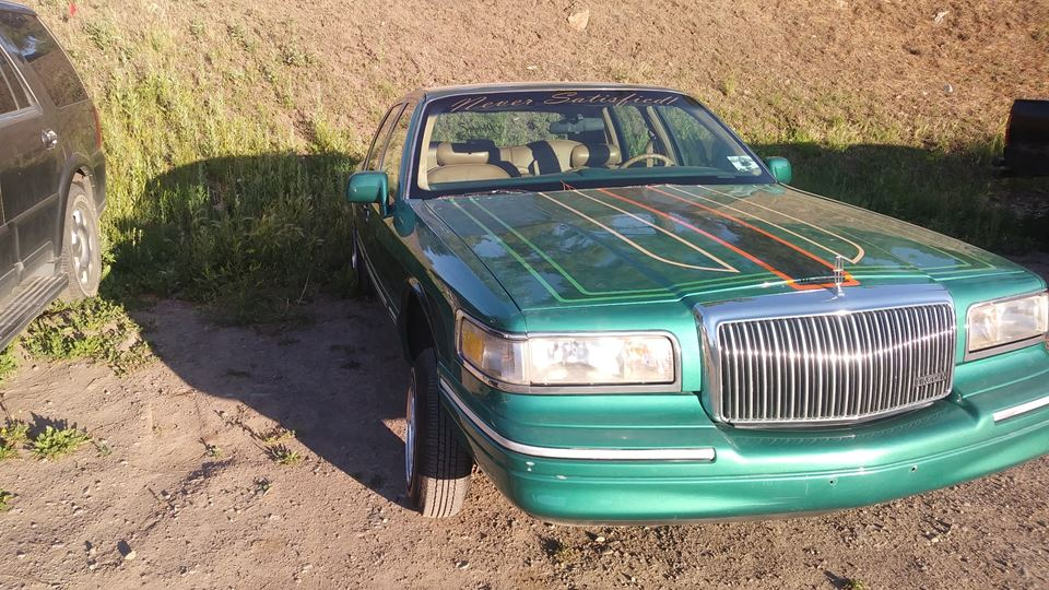 Lincoln Town Car Never Satisfied