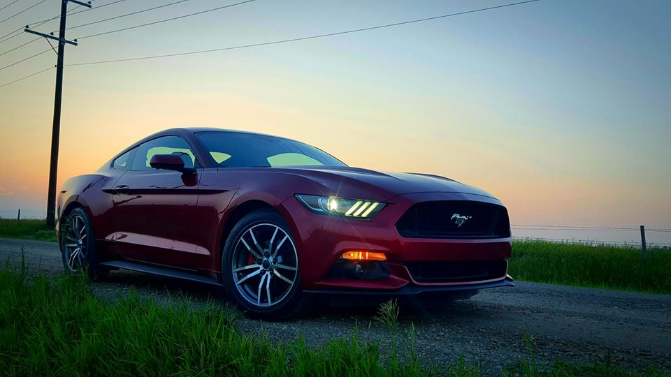 Ford Mustang Ruby Red Ecoboost