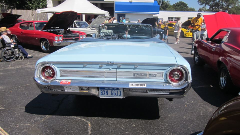 Ford Galaxie Big Blue Car