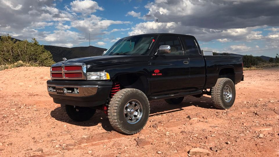 Dodge Ram Black Foot