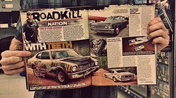 Im in ROADKILL MAGAZINE!!!