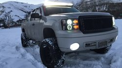 Light bars on!!