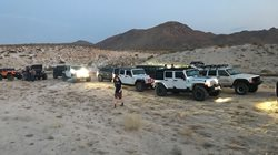 Dos Cabezas night run with San Diego Jeep Club.